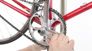 Replace The Chainring On A Bike's Square Tapered Crankset