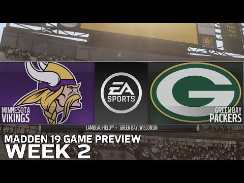 Mansour's Musings - Madden 19 simulates Vikings vs Packers and that didn't go as planned...