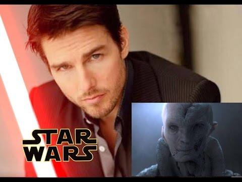 Tom Cruise is Snoke. Exclusive Star Wars News !