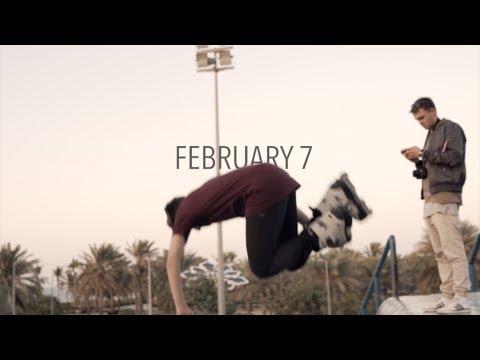 February 7 - Skating in Dubai