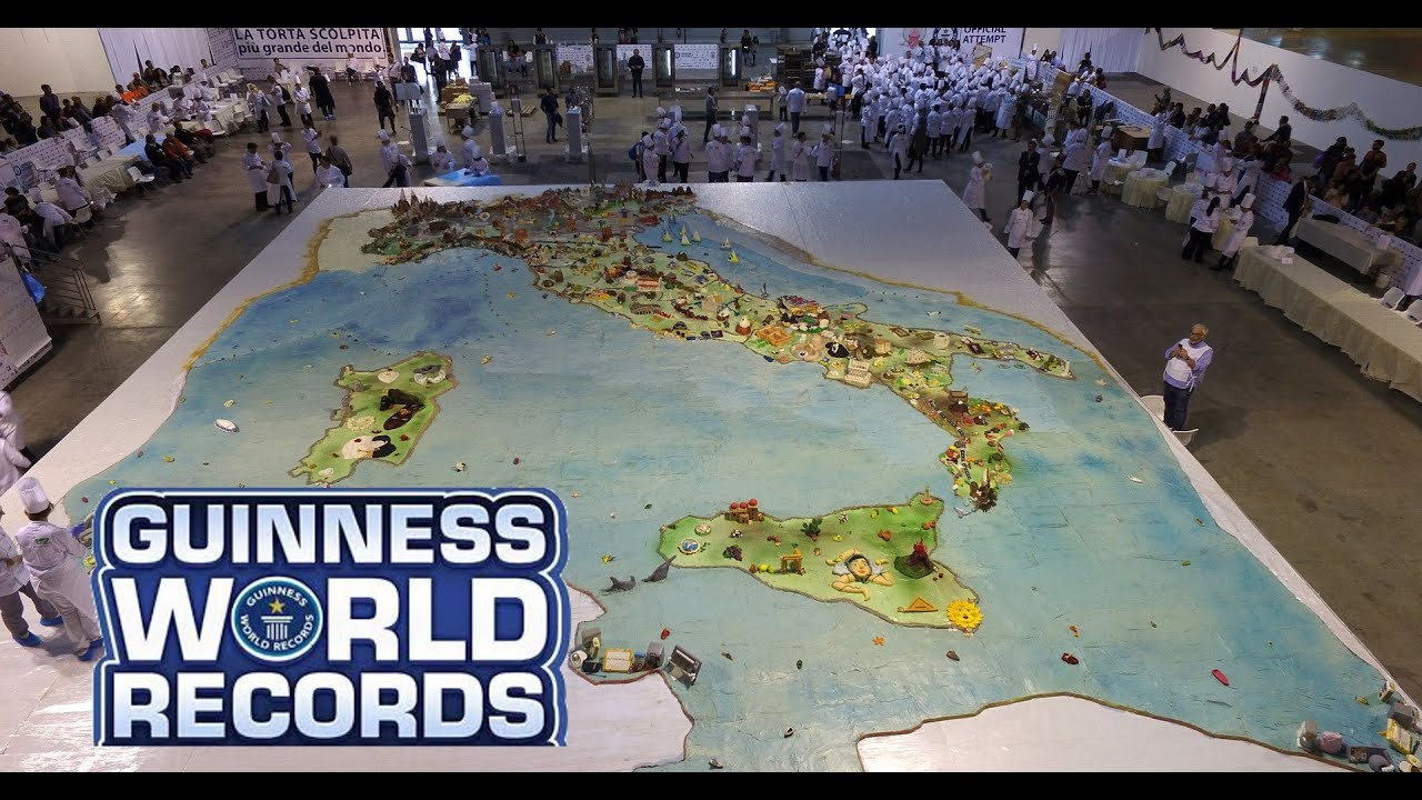 Torta pi grande del mondo youtube for La villa piu grande del mondo