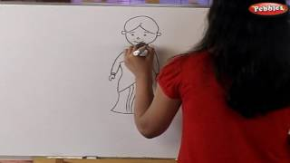 How to Draw a Figures | How to draw a boy, girl, baby, man, women, old man, old lady & Ghost