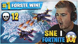 INTENSE * 12 KILLS * IN FORTNITE SEASON 7 (NEW MAP, WEAPON SKINS & AIRPLANES!)