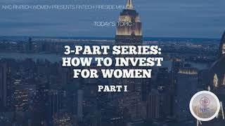 How to Invest for Women: Part 1