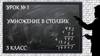 Изучаем математику с нуля / Урок № 1 / Умножение в столбик