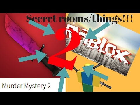 3 secret rooms/things you may not have known in Murder Mystery 2/ Roblox.