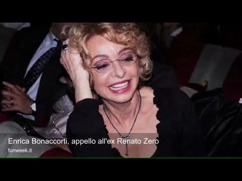 Enrica Bonaccorti, appello all'ex Renato Zero