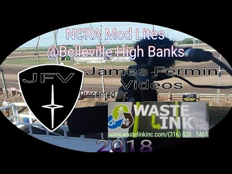 NCRA Mod Lites #12, Feature, Belleville High Banks, 07/03/18