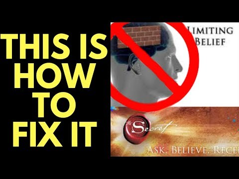Your Beliefs are BLOCKING the Law of Attraction (How to Fix it)