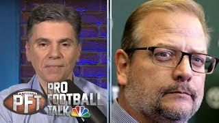Jets firing Mike Maccagnan goes beyond Adam Gase disconnect | Pro Football Talk | NBC Sports