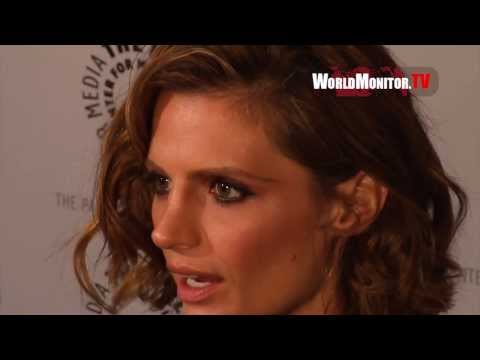 Stana Katic, Nathan Fillion, Molly C. Quinn 'Castle' Cast at The Paley Center For Media