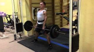 Становая тяга 100 кг при весе 60 кг