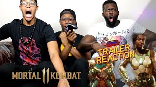 Mortal Kombat 11 – Kotal Kahn Reveal Trailer Reaction