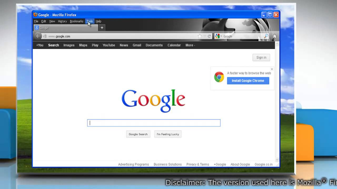 Google themes mozilla - How To Switch Mozilla Firefox To The Default Theme In Windows Xp