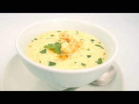 Thai Coconut Shrimp Soup