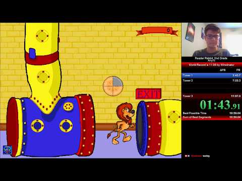 Reader Rabbit: 2nd Grade (Any%) In 10:53 [World Record]