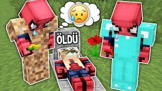 Fakir Örümcek Adam'ın Sevgilisi Öldü - Minecraft Zengin vs Fakir Örümcek Adam Video