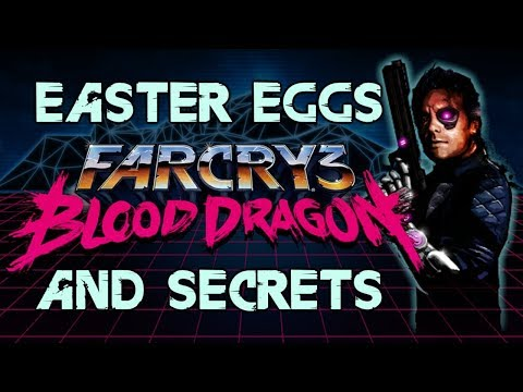 Far Cry 3: Blood Dragon Easter Eggs And Secrets HD