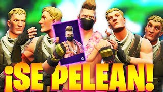 CARAMELIES ARE FIGHTD by THE NEW SKIN OF DERIVA ESTIVAL in FORTNITE!.. 🔥😱
