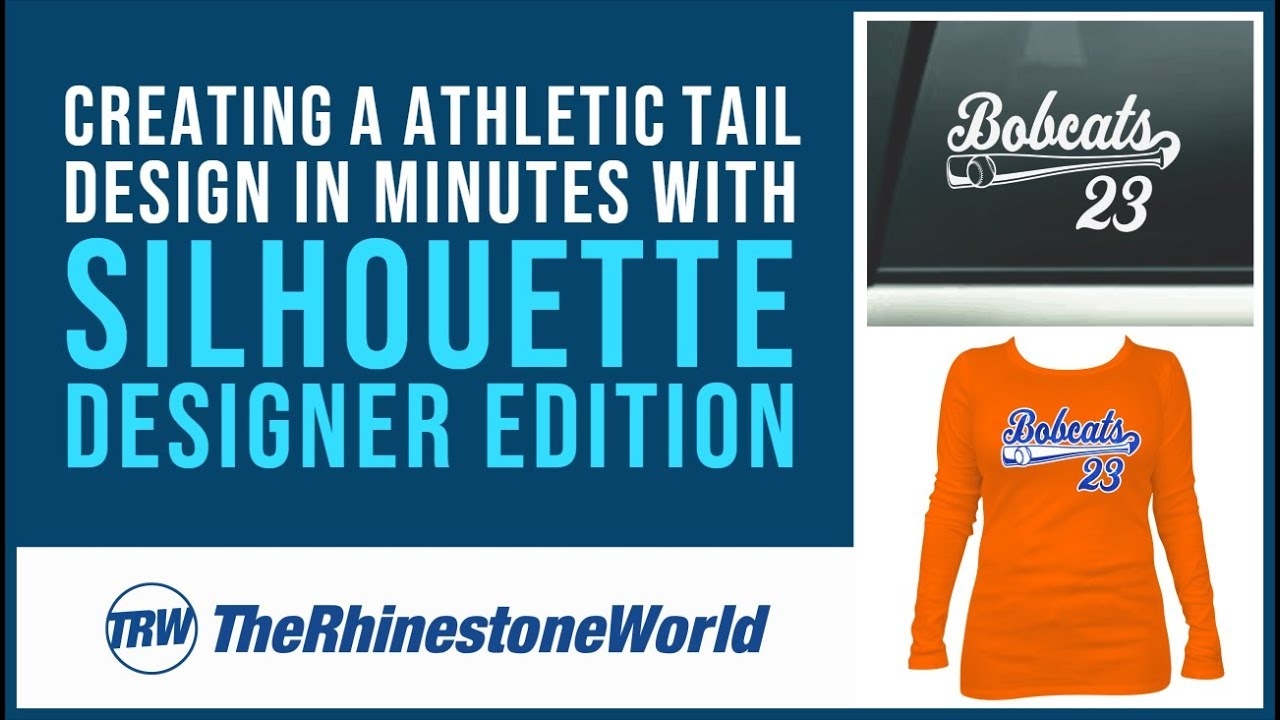 Designing A Custom Athletic Tail Vinyl Decal Or Shirt In Minutes