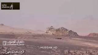 بطل من #الحد الجنوبي #احمد سالم الطويلعي ثناء إخلاء دبابة مصابه تعرض لهجوم وسحقهم  واخلاء الدبابه