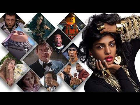 M.I.A.'s 'Paper Planes' Sung by 210 Movies!