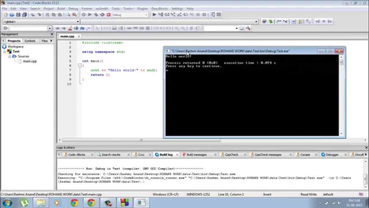 C++ Tutorials for Beginners