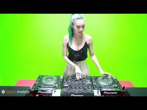 (คิวซ้อม) DJ LP Rehearsal Pioneer Lady DJ 2015 CDJ2000Nexus+DJM900Nexus+RMX500+Rekordbox
