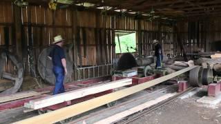 Saw Mill at Ashtabula County Antique Engine Club 2011 Big Show