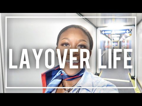 A DAY IN THE LIFE | THE LIFE OF A FLIGHT ATTENDANT | VLOG 14