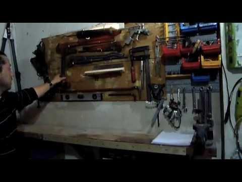 C mo organizar un taller en el garaje youtube for Garajes organizados
