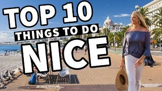 TOP 10 NICE FRANCE Tips, Advice & What To Do [Travel Guide]