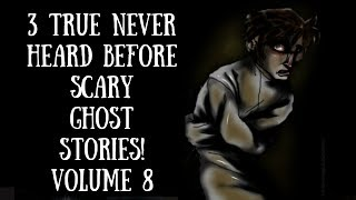 3 True Scary Paranormal Ghost Stories! (Amity hotel, Graveyard, Screams)