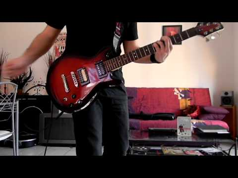 Indochine - You Spin Me Round (Guitar Cover)