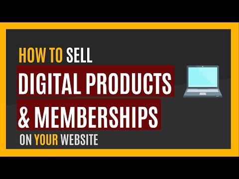 Selling Digital Content Online - Membership Sites - Evan Gregor