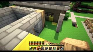 Minecraft: Gamer Druids EP 9: Building the Smithy!