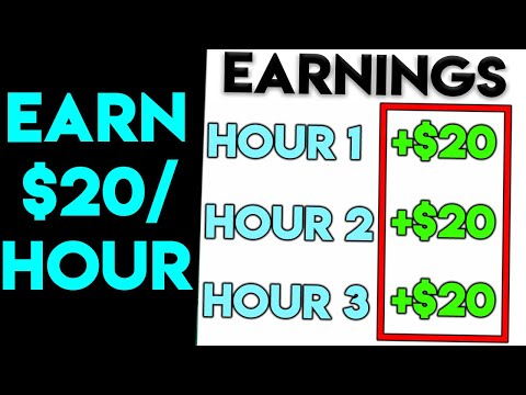 7 Sites That Pay $20 Per Hour To Work From Home [2020]