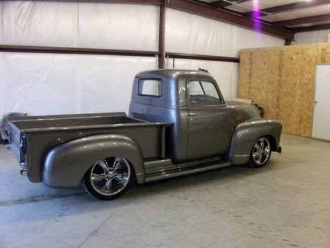 1950 Chevy Truck 454 BBC engine 69 Nova chassis 1950 Chevy 3100