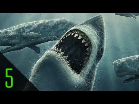 5 Giant Monsters Hidden in the Sea