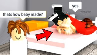 Spying on ROBLOX ODERS as a BABY!