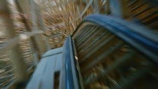 Ghostrider Roller Coaster POV Knott