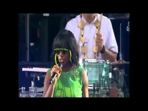 Santogold  Santigold - GO / L.E.S. Artistes Live @ Made in America Festival in Philadelphia 9-2-2012