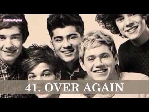 My 1D TOP 50 SONGS
