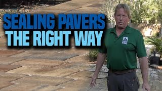 How to seal outdoor pavers   Earth Works Jax