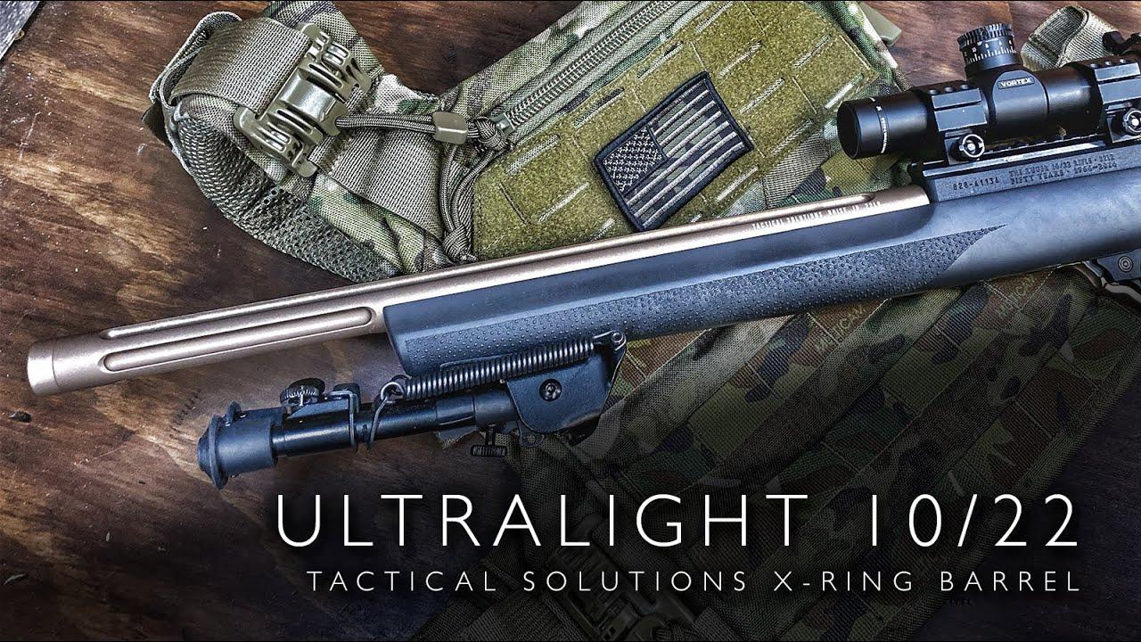 Tactical Solutions 10/22 X-Ring Barrel