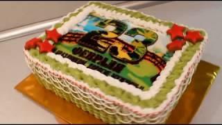 Торт 23 Февраля Как Украсить Торт Мужской Торт