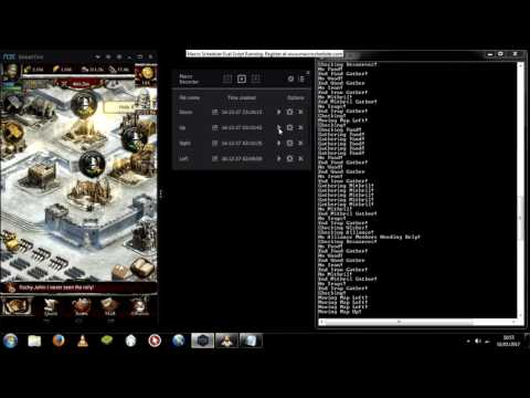 100% Working BOT - Macro Scheduler - Clash Of Kings BOT (18Accounts)