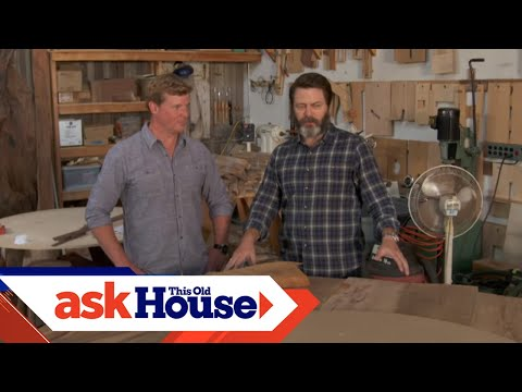 Touring Nick Offerman's Wood Shop