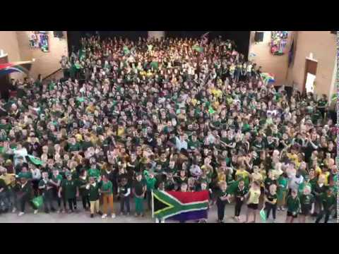 Edgemead Primary School Shosholoza - World Rugby Cup 2019