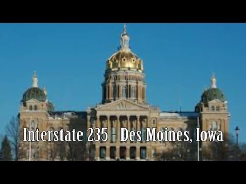Interstate 235 - Des Moines, Iowa | Drive on Transportation